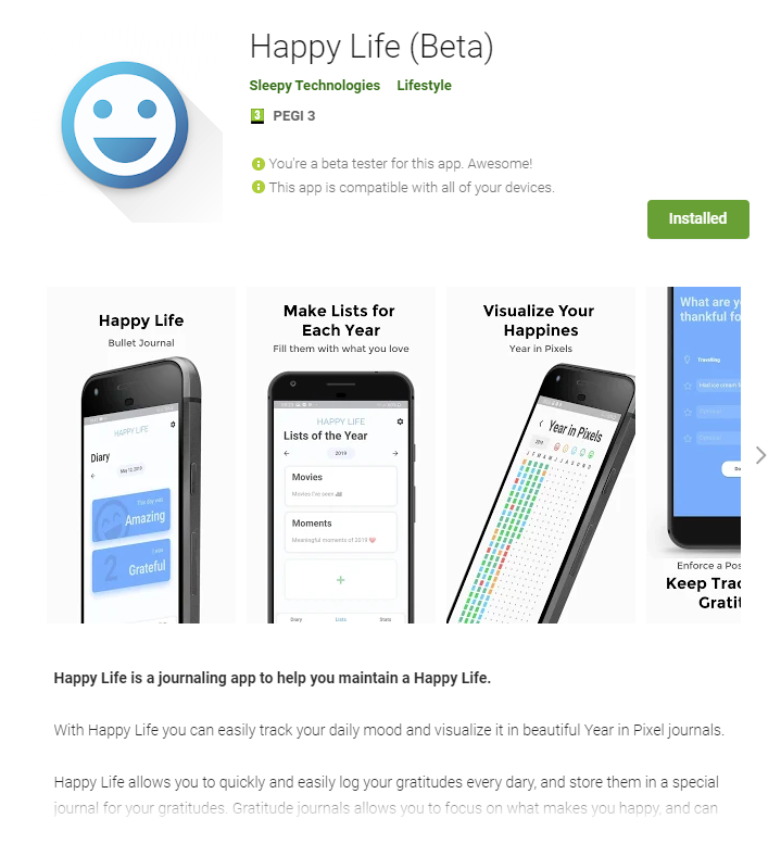 Happy Life Application