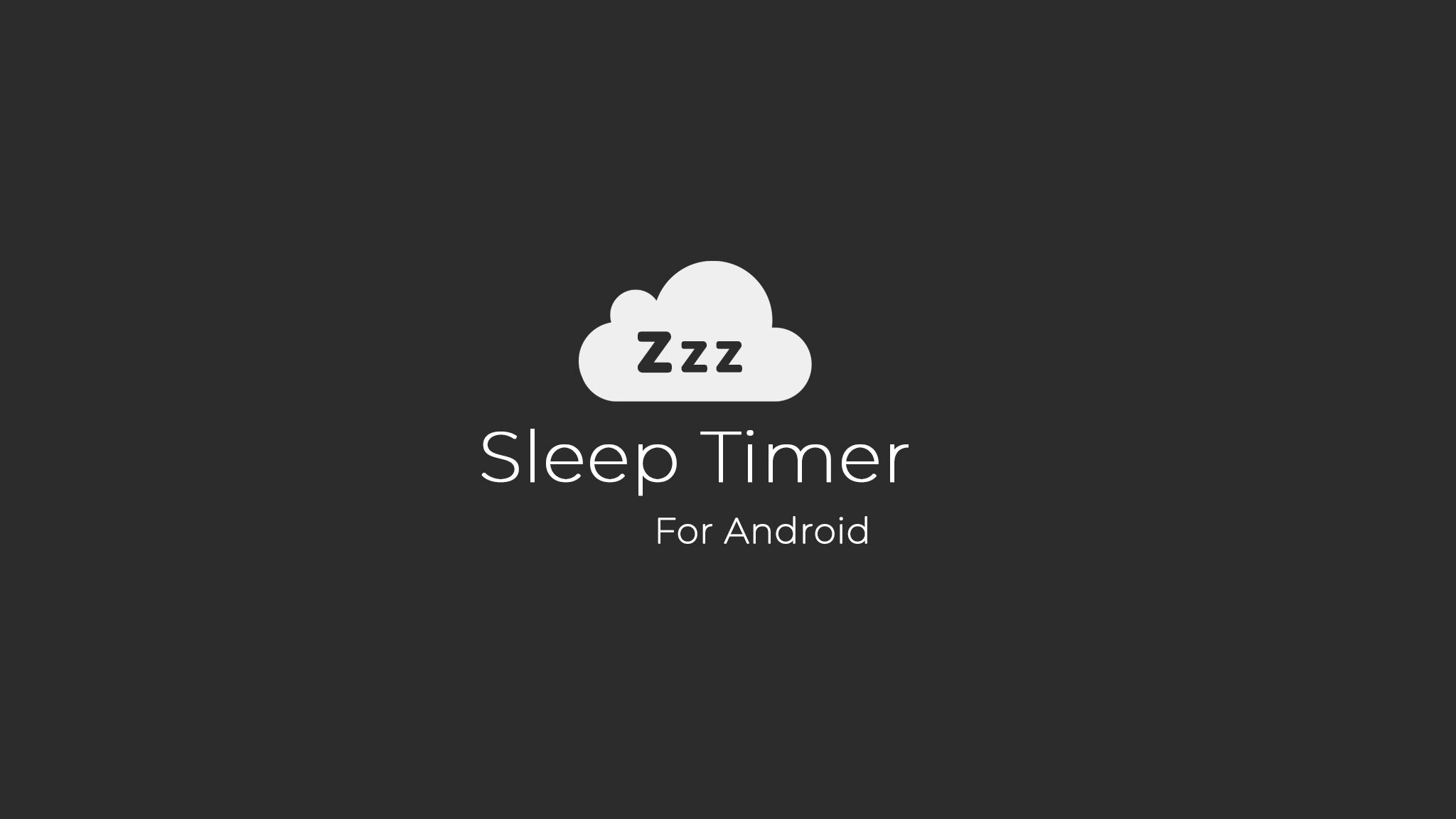 Sleep Timer Android Application
